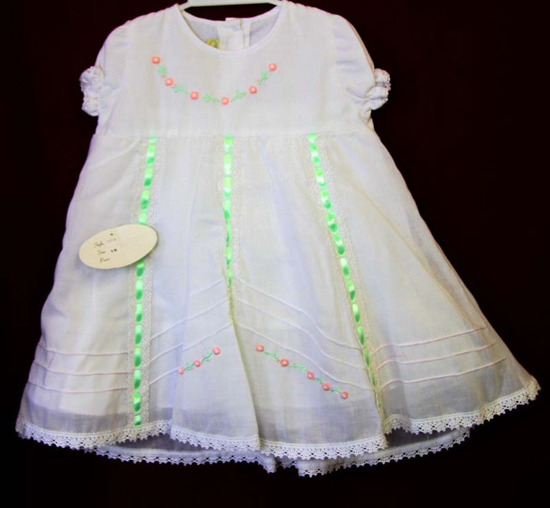 Closeout (DEFECTIVE DRESS) White dresses for girls 412549 - CC052 ...