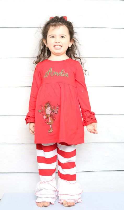 Toddler Girl Christmas Outfit Baby