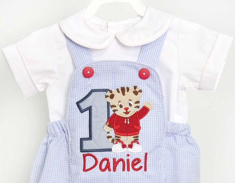 Daniel Tiger Custom Birthday Cute Kids Toddler T-Shirt