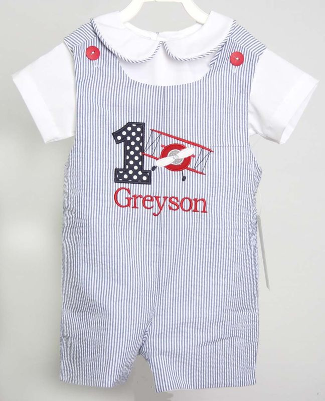 Baby Boy First Birthday Outfits 1st Outfit Airplane 292931