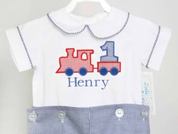 Train Birthday Baby Boy First Outfit One Year Old 292917