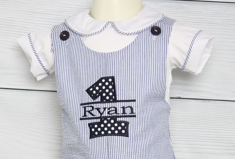 Baby Boy Birthday Outfit 1st Toddler 293130