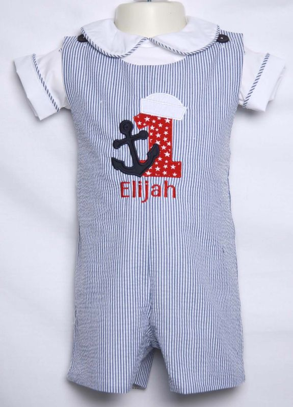 Nautical Theme First Birthday Outfit For Boys 293489