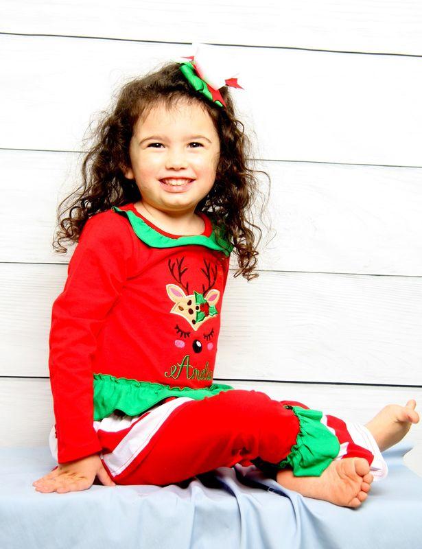 Toddler Girl Christmas Outfit, Baby Christmas Outfit, Baby Girl Christmas Outfits 293719 - Zuli Kids Clothing