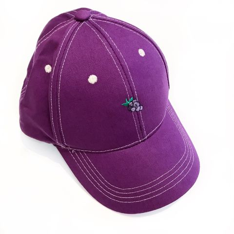 Grapes,Purple,Fruit,Cap,cap, kawaii, grapes, fruitcap