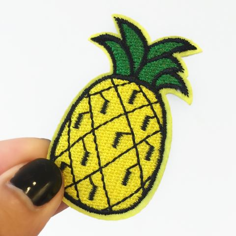 Pineapple,Patch, irononpatch, gift