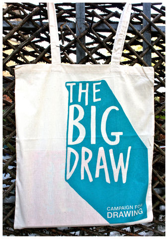 The,Big,Draw,Tote,Bag,big draw bag, tote bag, campaign for drawing