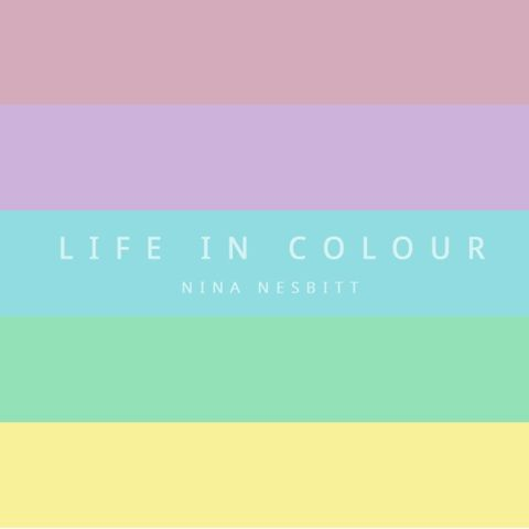 LIFE,IN,COLOUR,EP,Life In Colour, SIW4U, T-shirt, Modern Love, Nina Nesbitt, Tour, Music, merchandise, clothing, fashion, beanie, hat, chewing gum, NN
