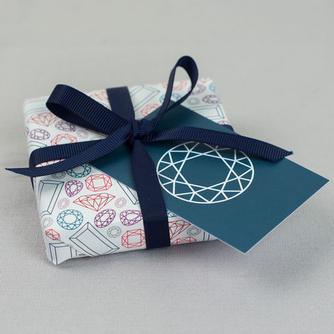 Geometric,Gemstone,Add,On,Gift,Wrap