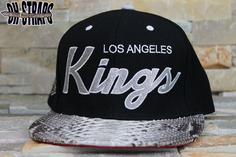Los,Angeles,Kings,Snakeskin,Strapback,Hat
