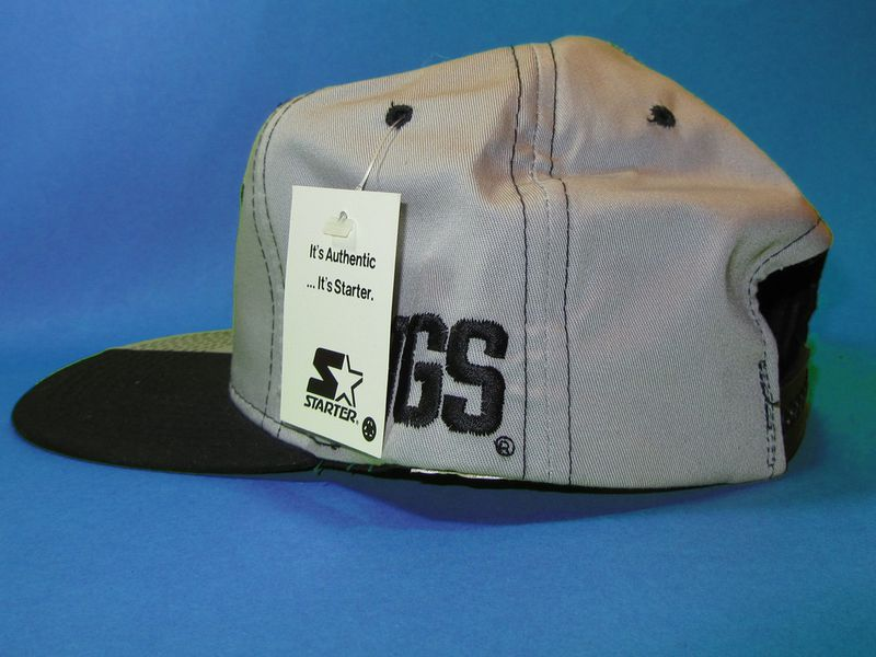 Los Angeles Kings Starter Pinwheel Vintage Snapback Hat - product image