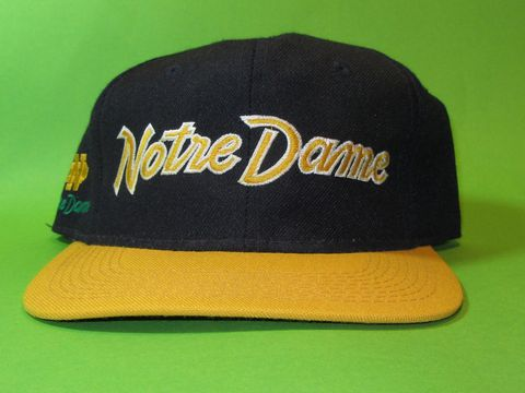 Notre,Dame,Vintage,Sports,Specialties,Script,Snapback,Hat