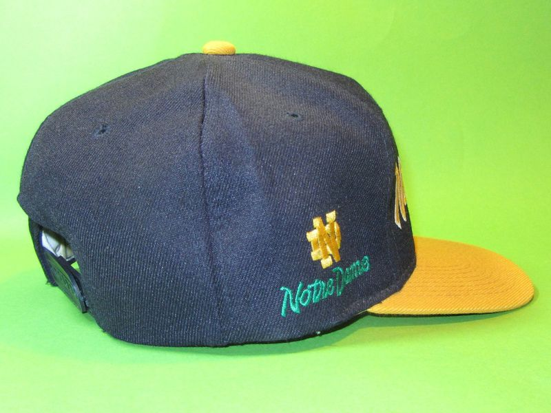 Notre Dame Vintage Sports Specialties Script Snapback Hat - product image
