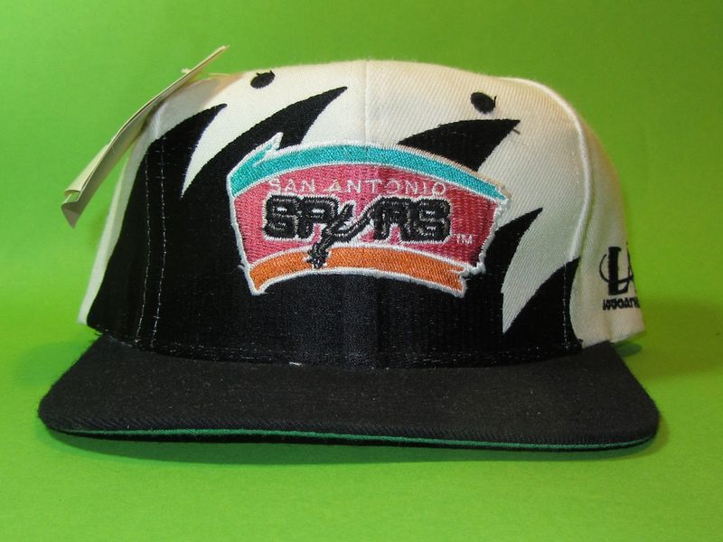 San Antonio Spurs Logo Athletic Sharktooth Vintage Snapback Hat - product image