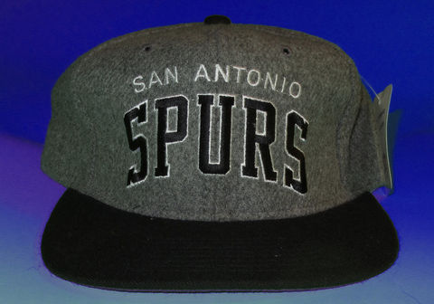 San,Antonio,Spurs,Starter,Arc,Heather,Snapback,Hat