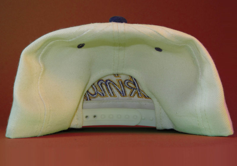 Minnesota Vikings Sports Specialties Script Snapback Hat - product image