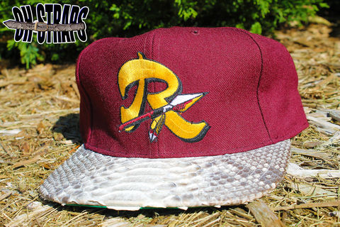 VINTAGE,Washington,Redskins,STARTER,Snakeskin,Strapback,Hat,*1,of,1*