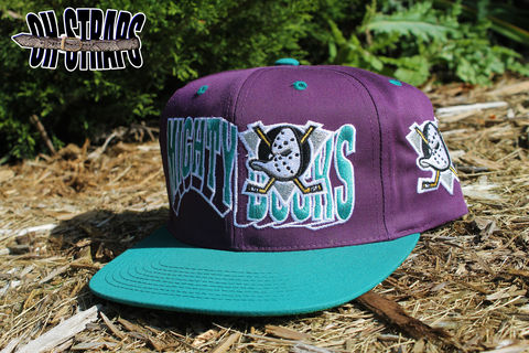 Mighty,Ducks,Wave,Snapback,Hat
