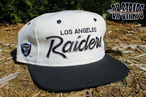 Los,Angeles,Raiders,Script,Sports,Specialties,Snapback,Hat