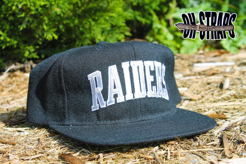 Los,Angeles,Raiders,Starter,Arc,Snapback,Hat