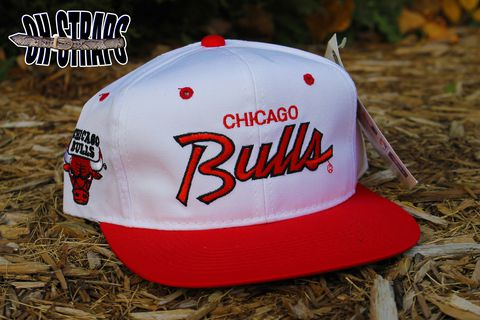 Chicago,Bulls,Script,Sports,Specialties,Snapback,Hat