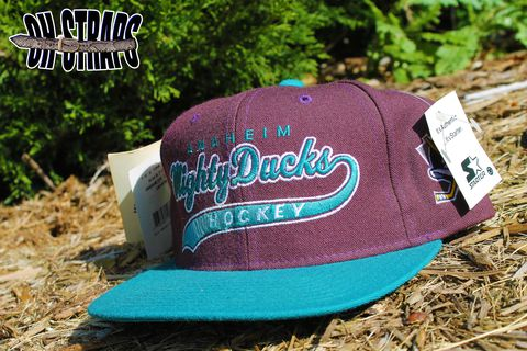 Mighty,Ducks,Starter,Script,Snapback,Hat