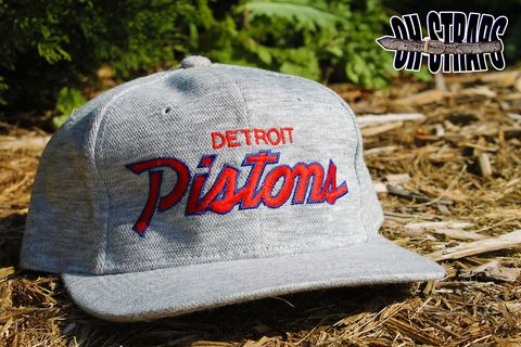 Detroit,Pistons,Sports,Specialties,Script,Snapback,Hat