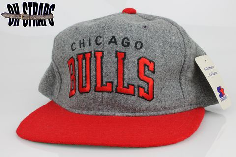 Chicago,Bulls,Wool,Starter,Snapback,Hat