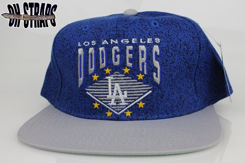 VINTAGE,Los,Angeles,Dodgers,Denim,Starter,Snapback,Hat