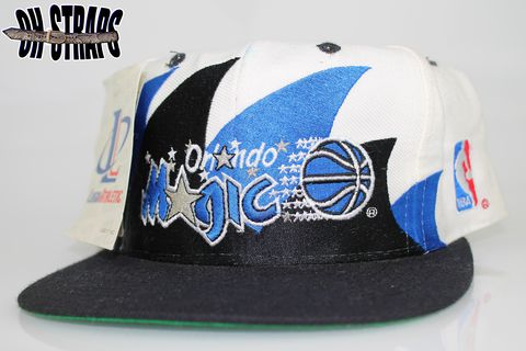 Vintage,Orlando,Magic,Double,Sharktooth,Snapback,Hat