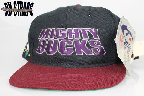 VINTAGE,Mighty,Ducks,Script,Sports,Specialties,Snapback