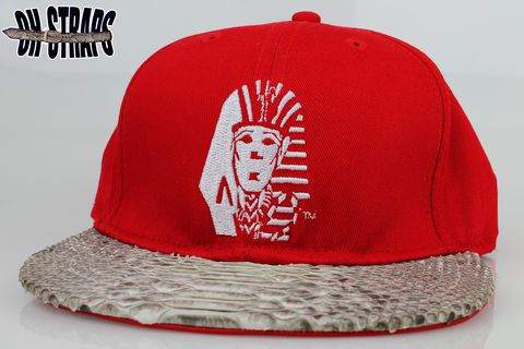 Last,Kings,Snakeskin,Strapback,Hat,**AS,SEEN,ON,TYGA**