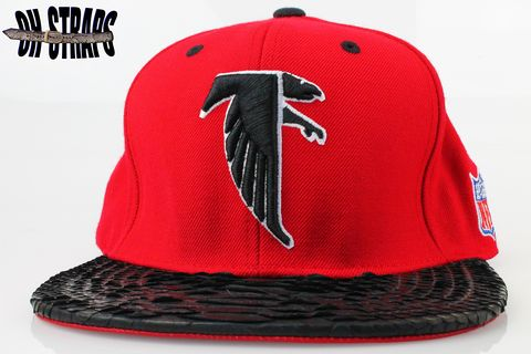 Atlanta,Falcons,M&amp;N,Snakeskin,Strapback,Hat