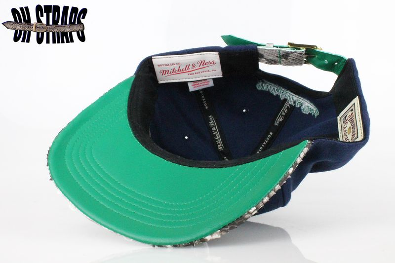 Dallas Mavericks Snakeskin Strapback Hat - product image