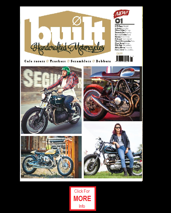 Built Handcrafted Motorcycles Magazine