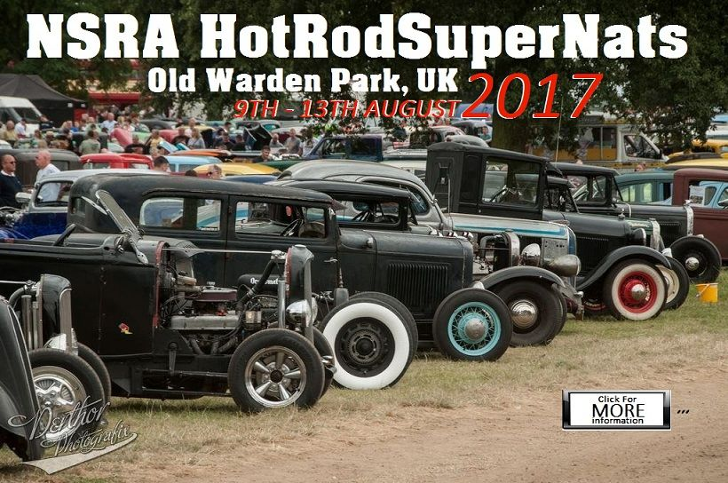 Cross RodAce Hot Rod and Car Shows 2017