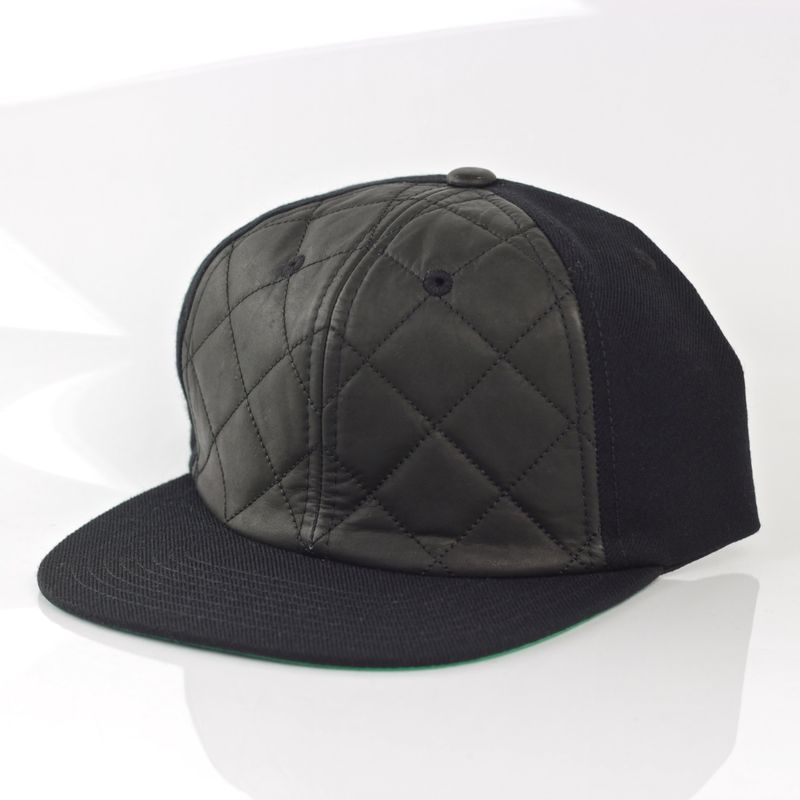 Quilted Front Snapback - product images  of