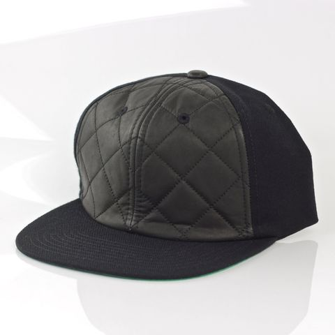Quilted,Front,Snapback,Karl Alley, Quilted Front Snapback, Metal, plate, snapback, hat, boy london