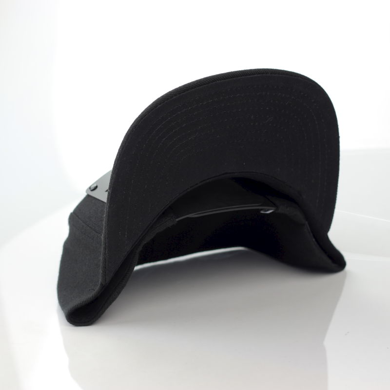 Realness Black on Black Snapback - product images  of