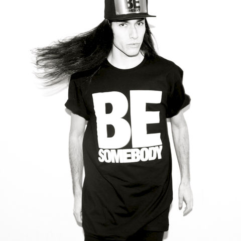 Be,Somebody,Tee,(Karl,Alley,x,House,of,Wallenberg),Karl Alley, Be Somebody Snapback (Karl Alley x House of Wallenberg) , Metal, plate, snapback, hat, boy london
