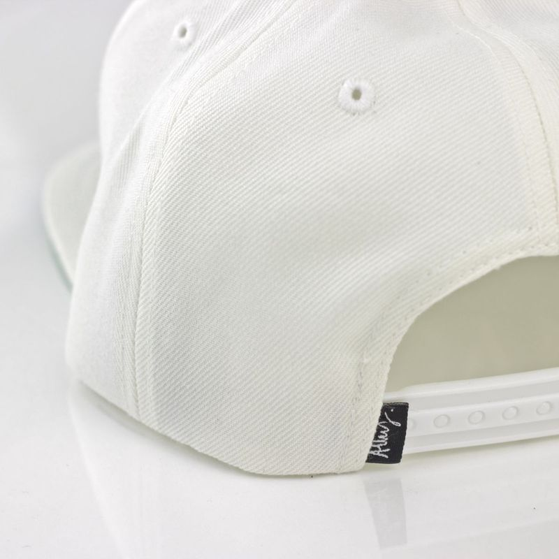 Paris is Burning 18K Gold Snapback (White) - product images  of