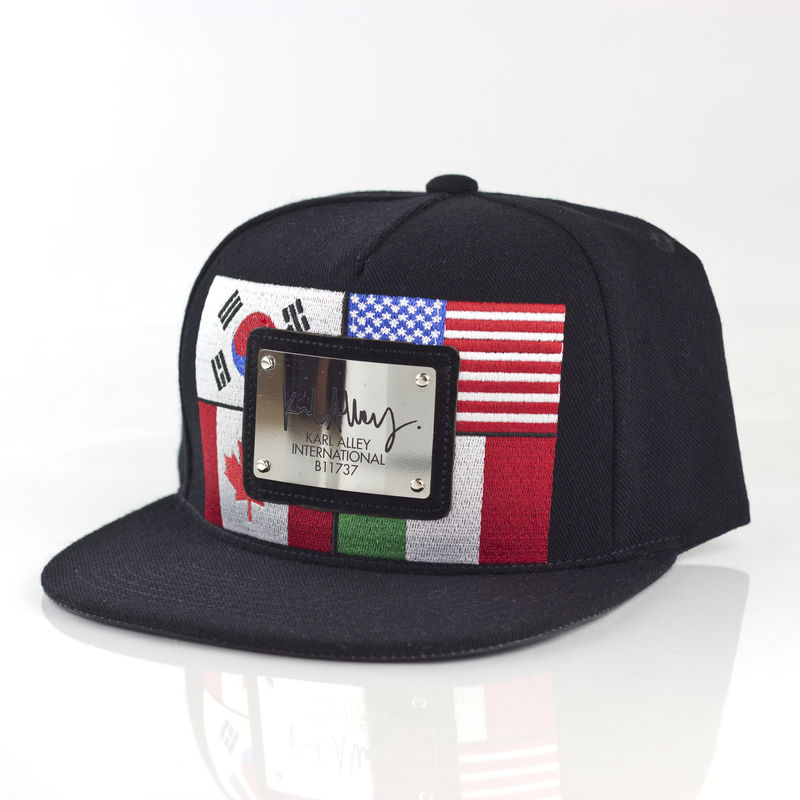 World Flags Signature Snapback (Chrome) - product images  of