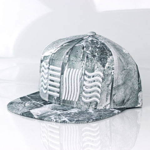 Earth,Snapback,(5,Elements),Karl Alley, Air, 5 elements, Metal, plate, snapback, hat, boy london