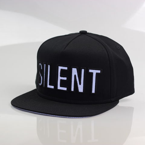 Silent,Reflection,Snapback,(Black),Karl Alley, Karl Alley x Shaun Bass, Shaun Bass, Silent Reflection, Reflective, 3M, snapback, hat, cap, long clothing, boy london, #karlalley