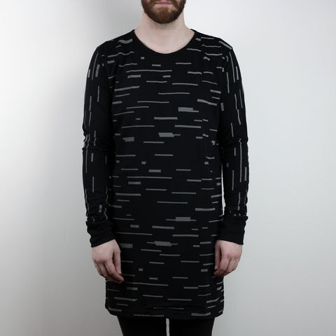 Silent,Reflection,-,Glitch,Longsleeve,Karl Alley, Shaun Bass, Glitch, Reflective, 3M, T-shirt, tee, long clothing, boy london