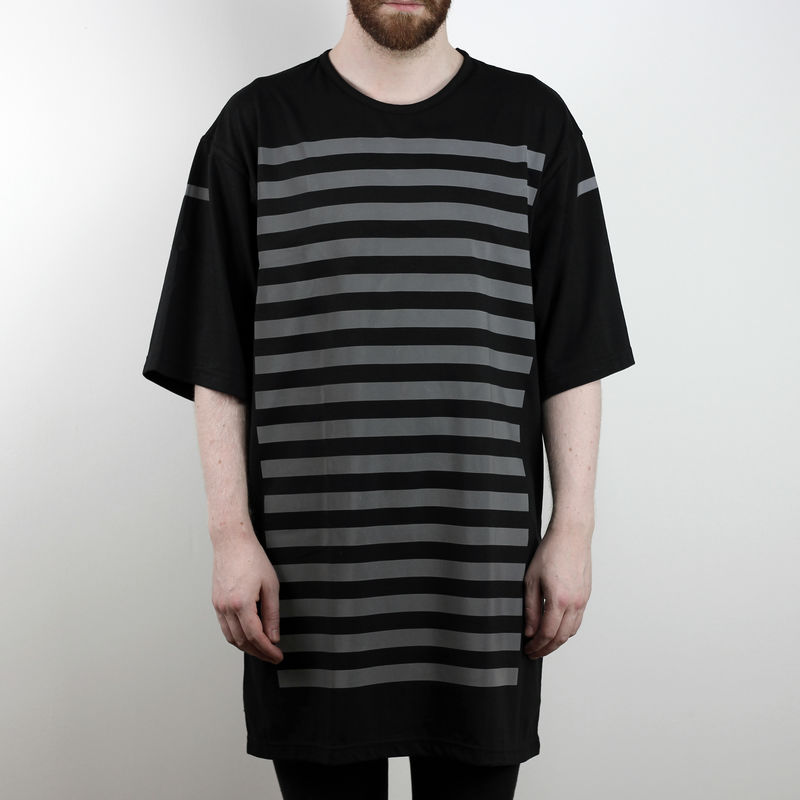 Silent Reflection - Vertical Stripe Tee - product images  of