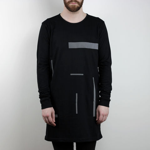 Silent,Reflection,-,Composition,2,Longsleeve,Karl Alley, Shaun Bass, Composition, Reflective, 3M, T-shirt, tee, long clothing, boy london