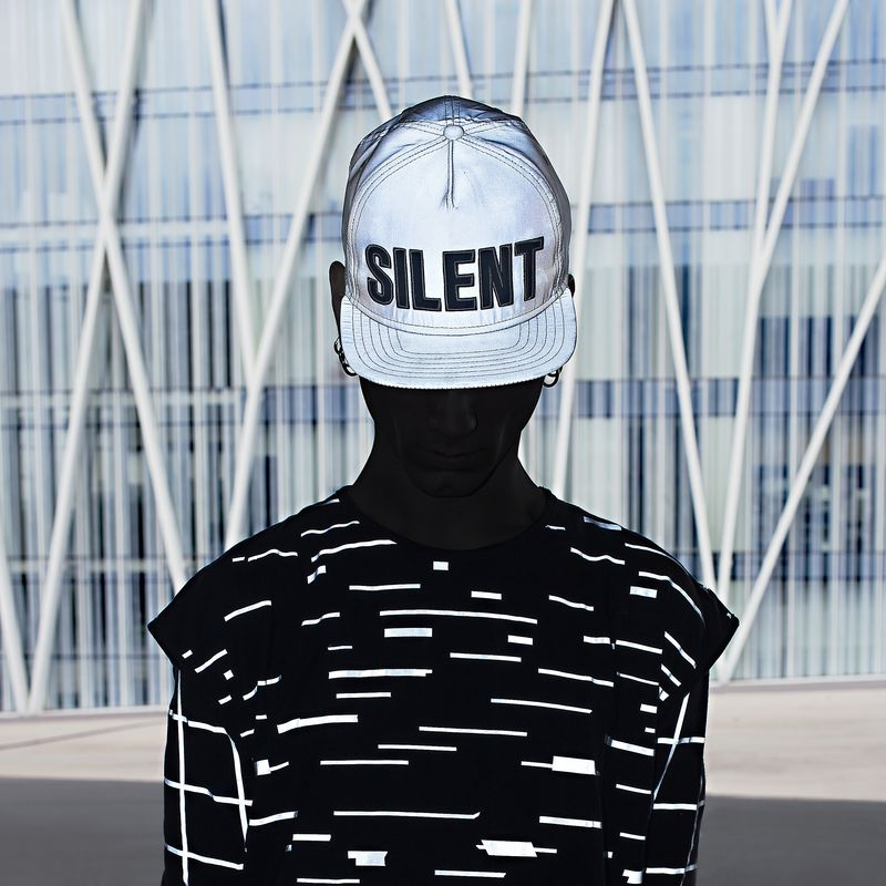 Silent Reflection Snapback (Silver) - product images  of