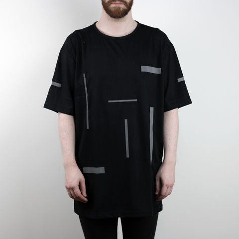Silent,Reflection,-,Composition,2,Tee,Karl Alley, Shaun Bass, Composition, Reflective, 3M, T-shirt, tee, long clothing, boy london