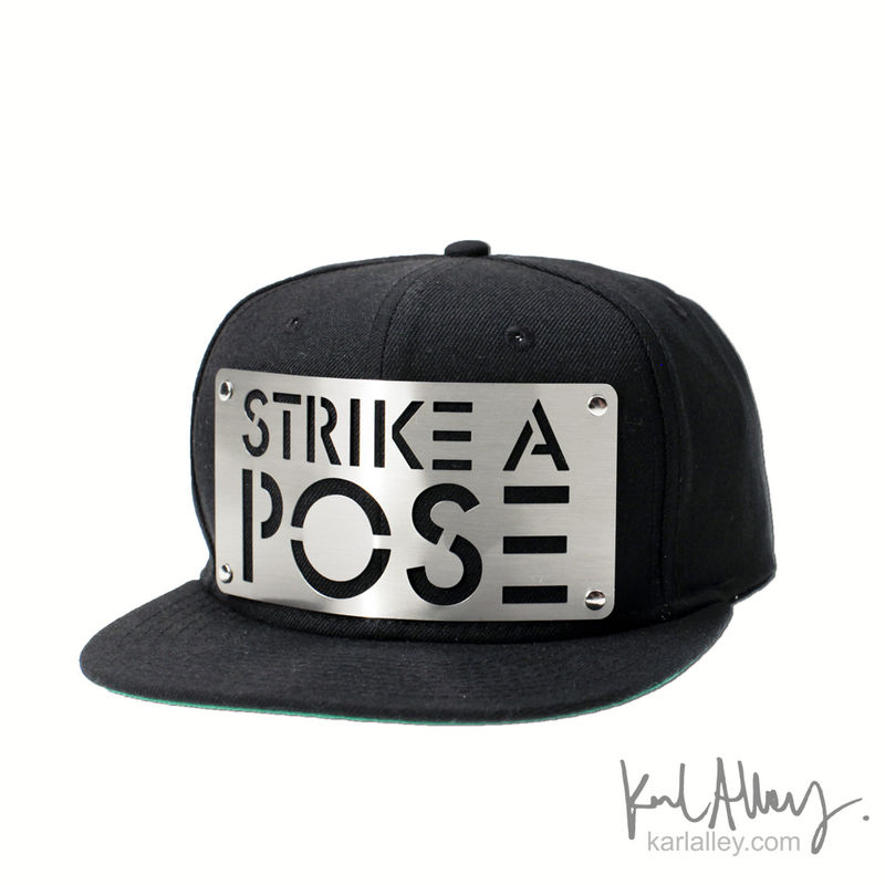 Strike a Pose Snapback Hat - product images  of